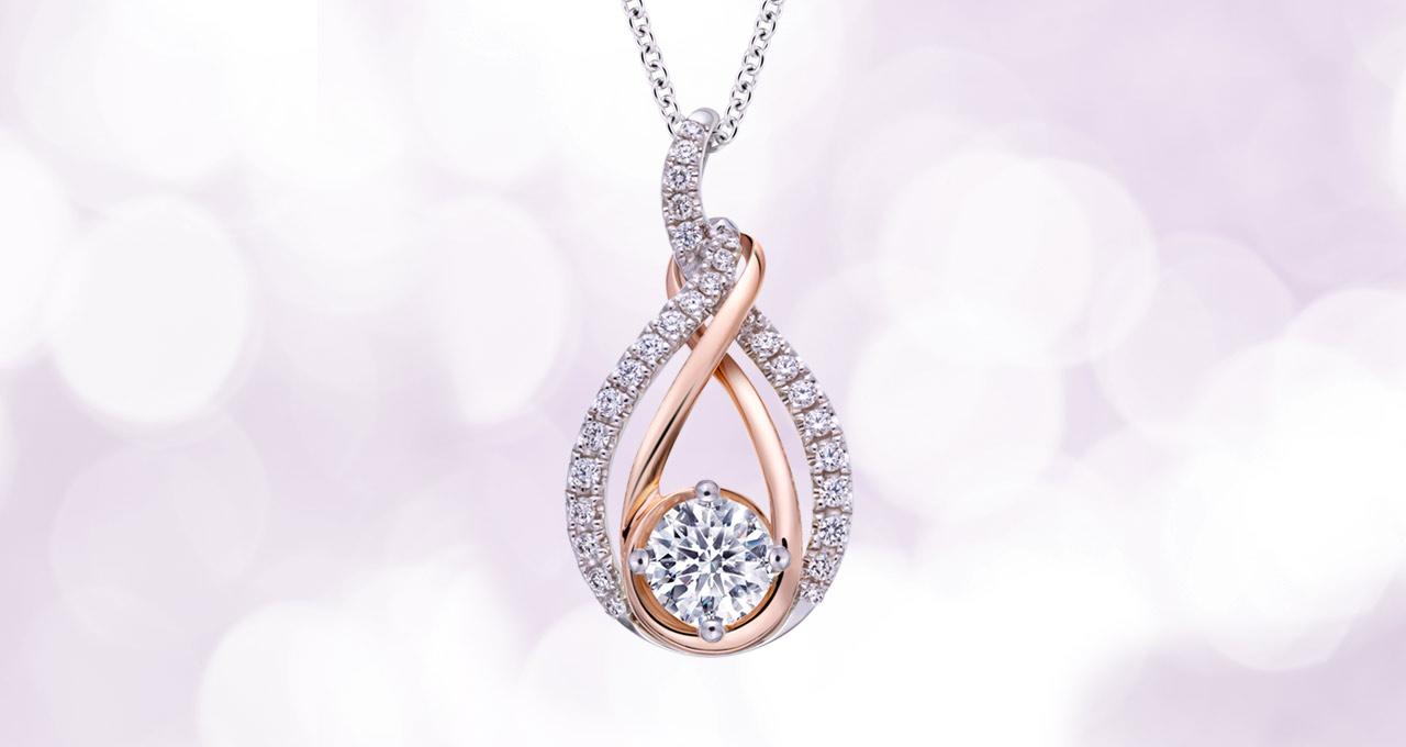 GIA鑽石-設計款項鍊