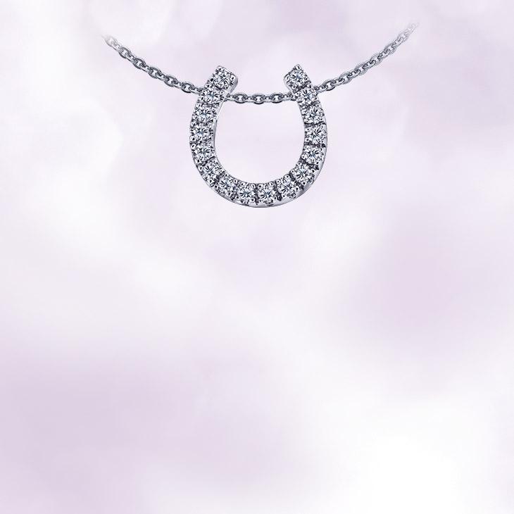 輕珠寶-鑽石項鍊