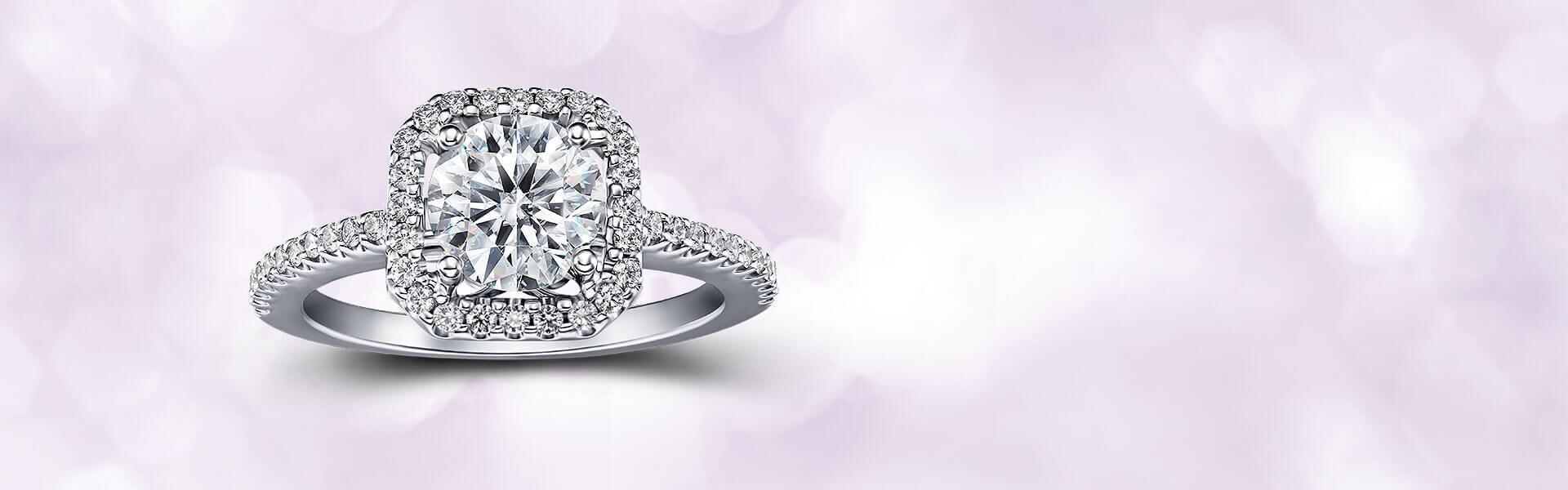 GIA鑽石-設計款-鑽石戒指