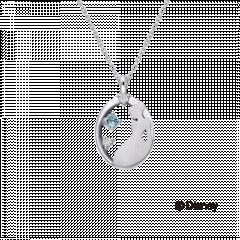 【迪士尼公主系列 】 仙度瑞拉鑽石項鍊