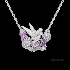 迪士尼 奇妙仙子鑽石項鍊