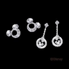 米奇&米妮系列鑽石耳環