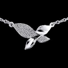 綺麗 18K金 輕珠寶鑽石項鍊