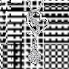 愛  18K金 愛心輕奢鑽石項鍊
