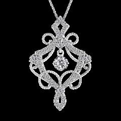 香朵蕾兒 18K金 輕珠寶鑽石項鍊