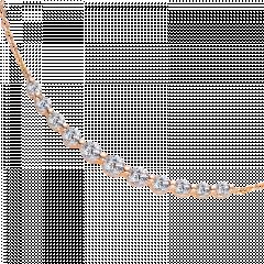純真  18K金 輕珠寶鑽石項鍊