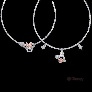 米奇&米妮系列鑽石手鍊