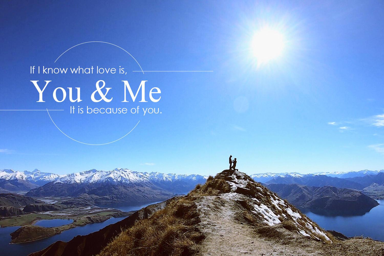 紐西蘭登山求婚